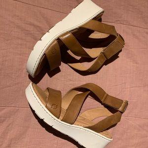 Born wedge sandals! Never worn!